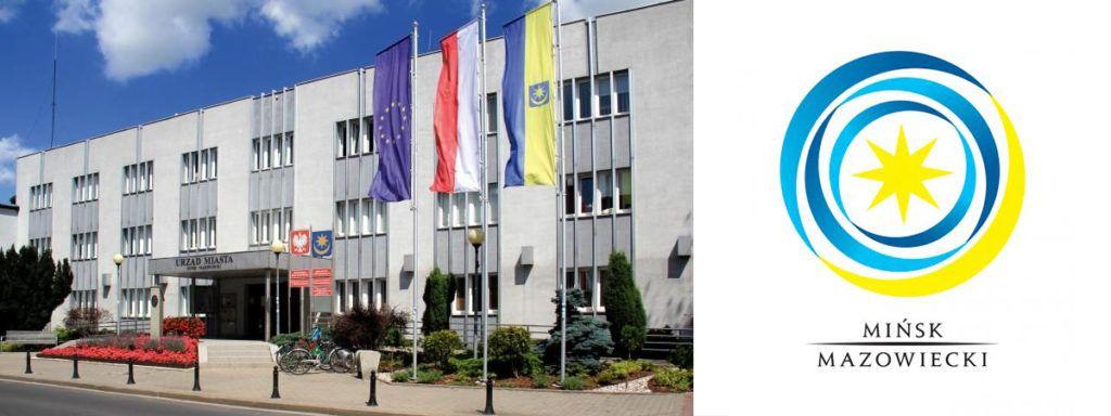 budynek urzędu miasta w Mińsku Mazowieckim