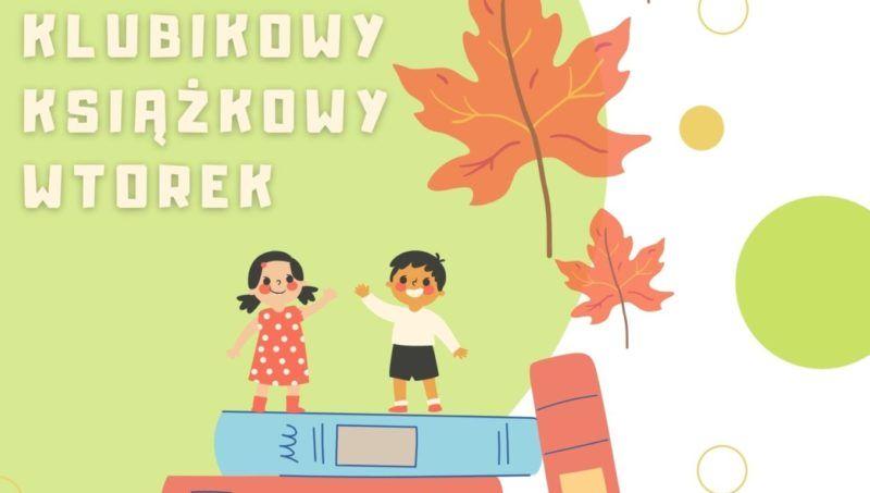 rysunek dzieci na ksiazach wśród jesiennych liści l